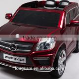2016 new Licensed Mercedes Benz GL63 AMG Kids Rechargeable Battery Operated Toy Car Official ride on car