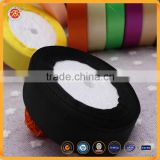 Cheap + 49% off 25 yards15mm satin black ribbon for diy crafts headband bow scrapbooks wedding EQA422