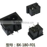 New products 2016 Alibaba China wholesales, IEC 320 C8 2 pin AC power connector socket industrial inlet socket BX-180-F