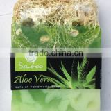 Aloe Vera natural loofah soap,100g