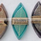 natural herbal soap,leaf shape soap