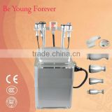 Non Surgical Ultrasound Fat Removal Vacuum Cavitation RF Weight Loss System With Motor Roller Body Slimming Machine
