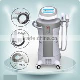 Multifunctional Professional Permanent Hair Removal E-light IPL RF+Nd YAG Laser Multifunction Machine