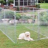 outdoor galvanized cheap chain link dog kennels, 6ft dog kennel cage, large dog run kennel ( FOB Price)