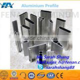 6063 aluminum window frames profile Window Glass Frame Section Anodized Aluminum Profile