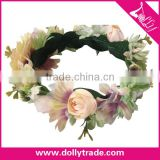 Big Flower Hair Headband The Seaside Travel Wreath of Bride Headdress Flower Wreath Accessories