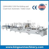 GDHH Series High Speed Automatic Carton Folder Gluer machine