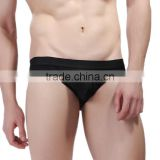 Custom Men's sey Nylon Thongs ecellent quality underwear Mesh low rise stretch pouch bulge bikini briefs for man 7 color