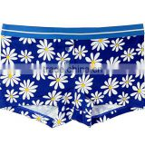 Custom Subliamation Breathable Lycra Cotton Boyshort Women Underwear