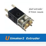 3D Printer Parts Ultimaker 2 3D Printer Assembled Extruder Set UM2 0.4mm Print Head SetUltimaker 2 3D Printers Dual Extruder Kit with 0.4mm Copper Nozzle
