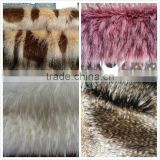 high quality fake racoon&fox fur