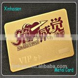 golden/silver visiting metal cards chemical etching stainless steel