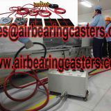 Air casters price list and manual instruction