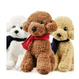 Stuffed Animals Plush Toy Dog With Clothes Dressed From Factory