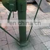 INQUIRY ABOUT 9m mobile hand winch telescopic mast China