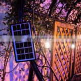 Outdoor Waterproof Solar System String Lights with Solar Panel for Patio Garden Vintage