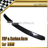 For BMW E46 Carbon Fiber 4 Door Rear Window Roof Spoiler