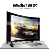 WEIER WANTENG TOP SALE CHEAP CHINA LED TV 12V 4K FACTORY CURVED TV SET- Black, 17-19 Inch                                                                         Quality Choice