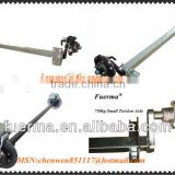 Rubber Torsion Axle