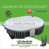 SNC UL cUL LUMILEDS LED Retrofit Kit 400W for Street Shoeboxes Wall Packs Canopy high bay