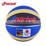 Outdoor Rubber 12 panels Basketball Ball