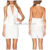 2015 Customized Summer White Plus Size Women Dress                                                                         Quality Choice