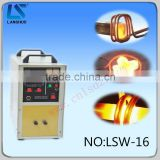 Low cost good quality high frequency portable induction railway rivet heating circuit machine