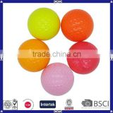 Hot sale bulk coloful water soluble blank golf ball