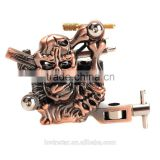 Custom High Stability Temporary Flash Tattoo Machine 10 Warps Coils 7000-9000 R/Minute for Begnner