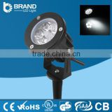 energy saving outdoor high lumen die casting 5x1w 5W led garden spot lamps                                                                         Quality Choice