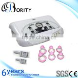 Bority beauty 2016 innovative device photon vibration vacuum suction portable breast massager machine