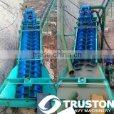Two Spiral Sand Washer/Screw Sand Washing Machine/Sand Washing Machine with little loss of sand made in Shanghai