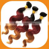 Beauty Ombre Hair Weaves Color 1B# -33#-27#