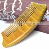 New Arrival Sandal Wood Comb Handmade Toothed Healthy Portable Hair Comb