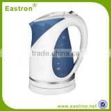 CE GS RoHS 1.7L Plastic Automatic Switch Off Electric Water Kettle