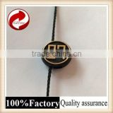 Fashional good quality plastic seal tag with logo string seal rifd windshield tag