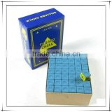 Blue Snooker And Pool Triangle Billiard Chalk