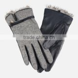 custom made women leather driving gloves