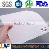 FDA certificate 100% viscose oil filter nonwoven fabric 43g