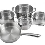 New products stainless steel household item cooking pot stainless steel pots and pan domestic cookware