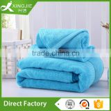 Luxury plain dyed custom bamboo towel set                                                                         Quality Choice