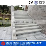 white granite stone steps for garden outdoor stairs