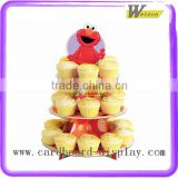 hot sale supermarket and promotion christmas cardboard cupcake outdoor christmas tree stand