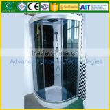 Smart steam shower room with bathroom fittings