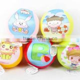 Children toys PVC 8inch inflatable ball(5styles), beach toys for Wholesale for children, EB033190