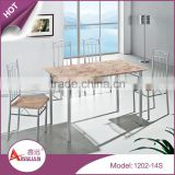 Good dining table and chairs,pvc chairs, table top for bar,dining restaurant chair marble table for sale