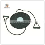 High Quality Plastic Wobble Balance Board with toning tube