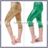 Baby Leggings and Tights Fashion mermaid icing capri pants                                                                                                         Supplier's Choice