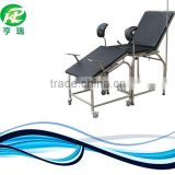 Surgical instrument operation table portable gynecological chair