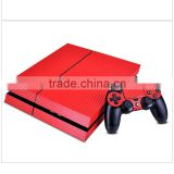 Many kinds of color and design carbon fiber design vinyl sticker for ps4                                                                         Quality Choice